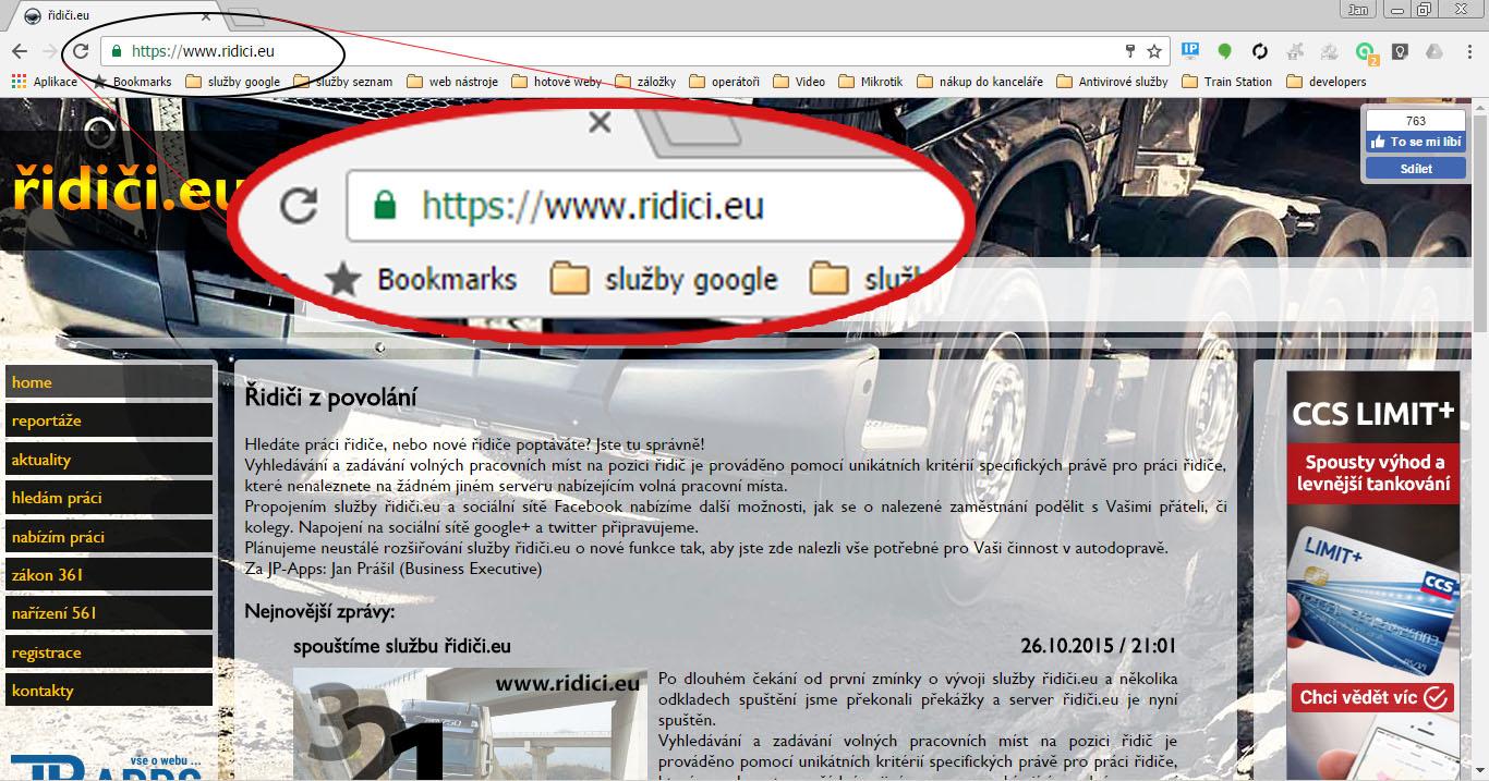 Bezpečnější web